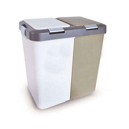 Domov a outdoor - Odpadkový koš na tříděný odpad UH DUO DUST 40l Orion 731258
