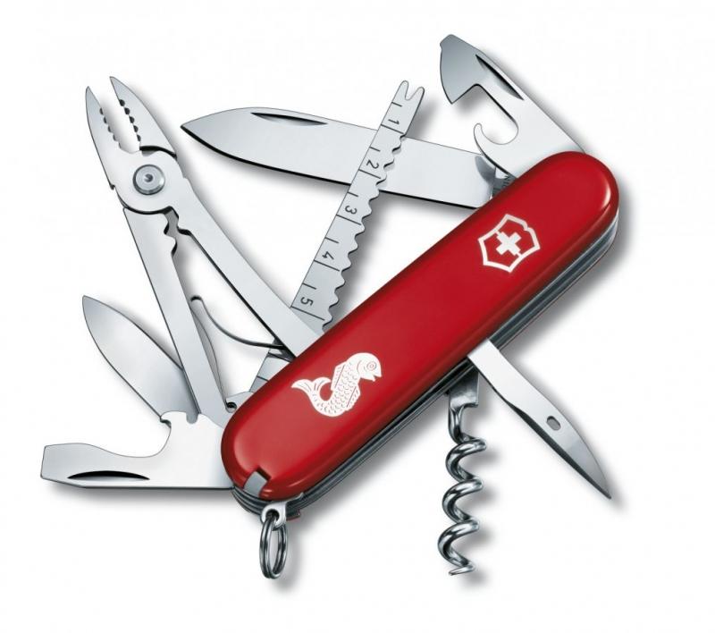 Domov a outdoor - Victorinox kapesní nůž 1.3653.72 ANGLER