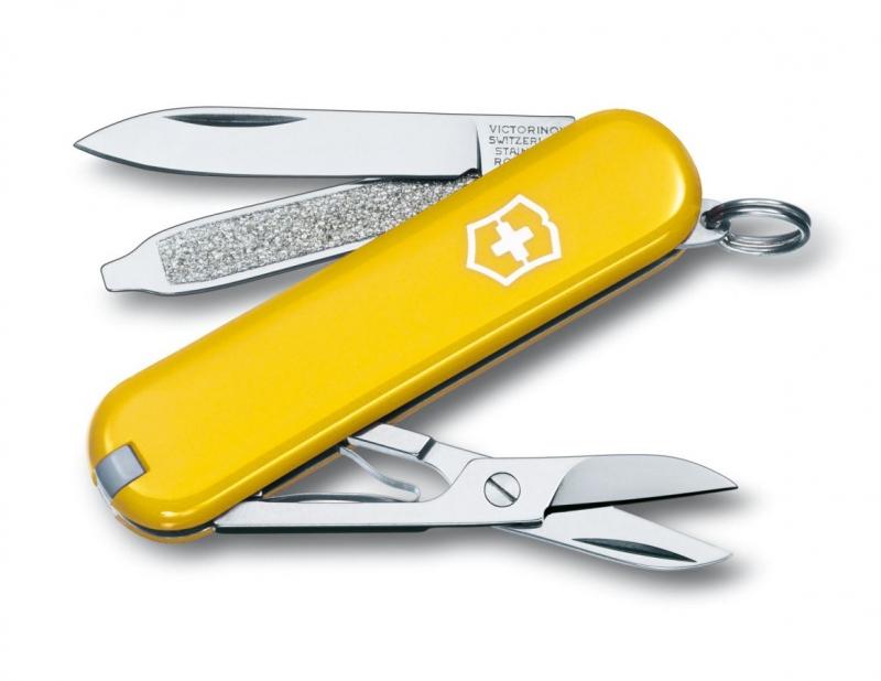 Domov a outdoor - Kapesní nůž Victorinox 0.6223.8 Classic SD - žlutý
