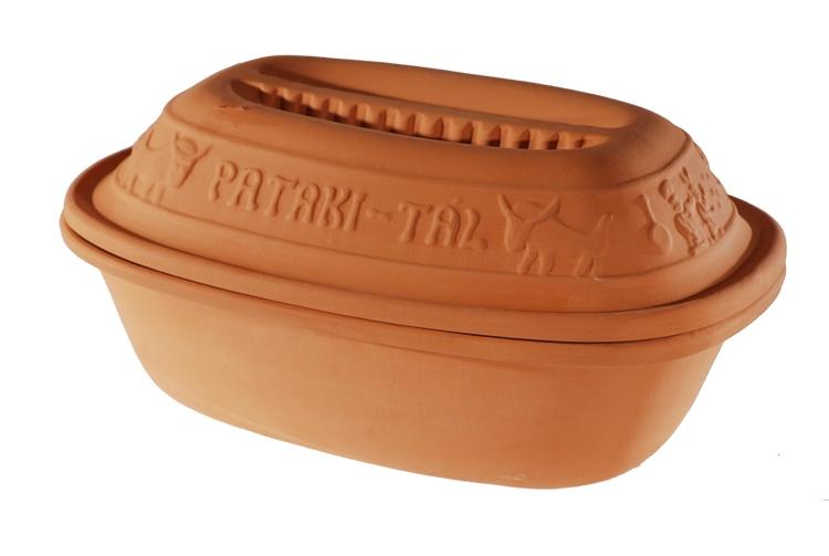 Pečení - Římský hrnec PATAKI 38 x 26,5 x 18 cm 6 litru