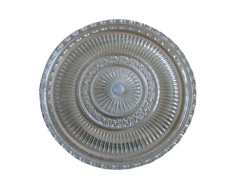 Stolování - Podnos plastový kulatý broušený 28cm