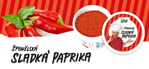 Příprava potravin - Koření Kulinář sladká paprika 90g