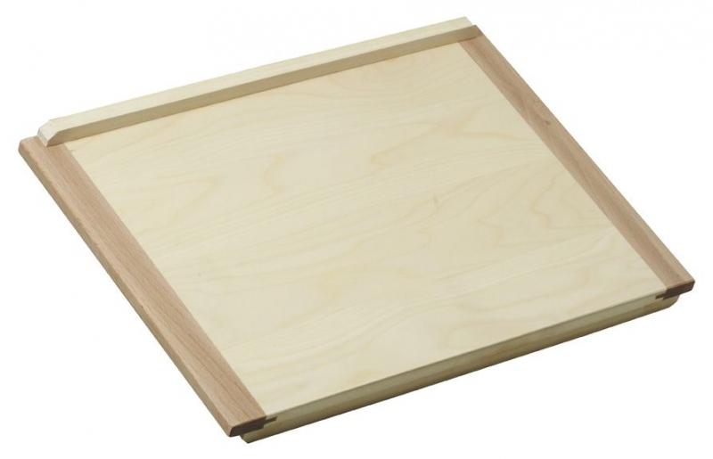 Pečení - Dřevěný vál 53x48 cm