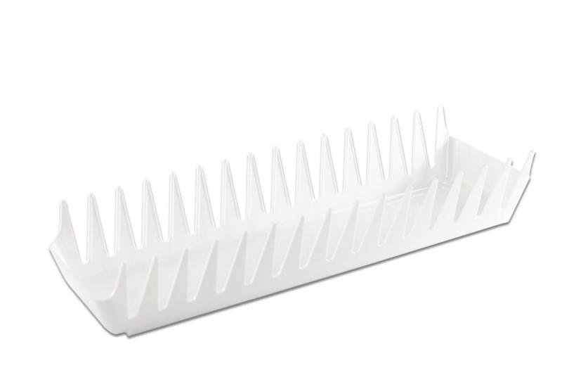 Organizace kuchyně - Plastový stojan - odkapávač na talíře
