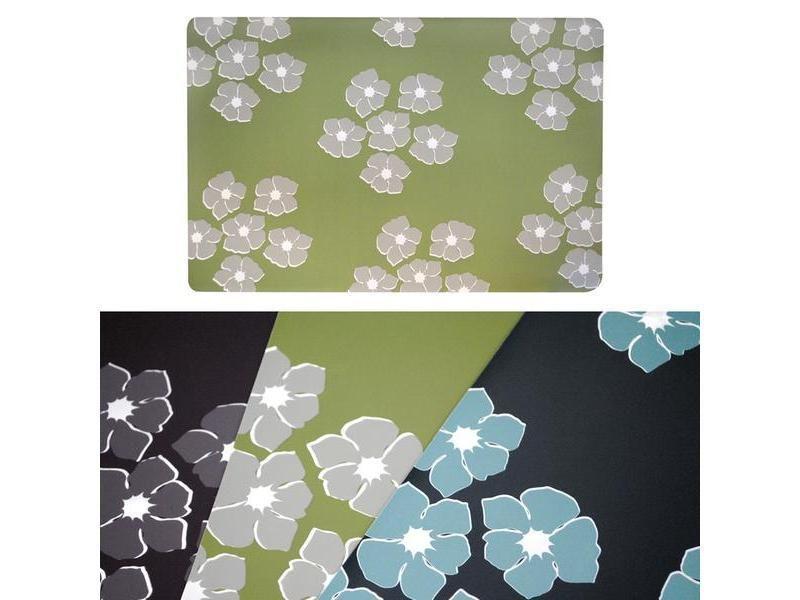 Stolování - TORO prostírání z PVC s dekorem květin