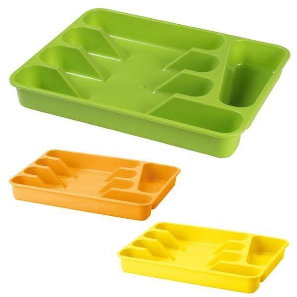 Organizace kuchyně - Plastový příborník střední 32,5x26 cm