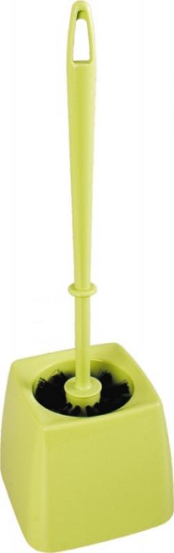 Domov a outdoor - Souprava na WC miska se štětkou čvercová