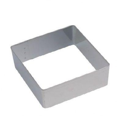 Pečení - Formička nerezová vykrajovací čtverec 39x39mm