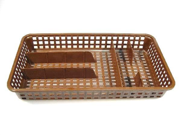 Organizace kuchyně - Plastový příborník úzký 38x21x5,5 cm