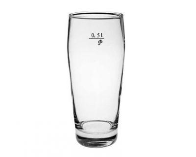 Nápoje - Banquet pivní pohár Klasik 0,5l s cejchem