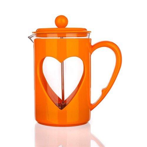 Nápoje - Banquet Konvice na kávu DARBY oranžová 800 ml A01247