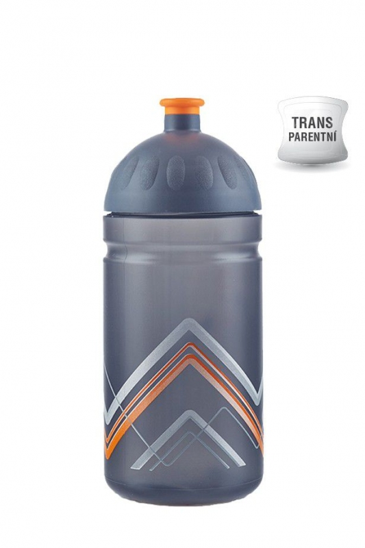 Nápoje - Zdravá lahev BIKE Hory oranžová 0,5 l V050280
