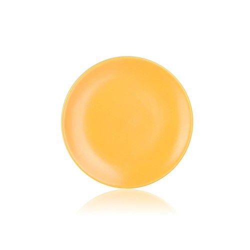 Stolování - Banquet Talíř dezertní žlutý mat 20 cm Amande
