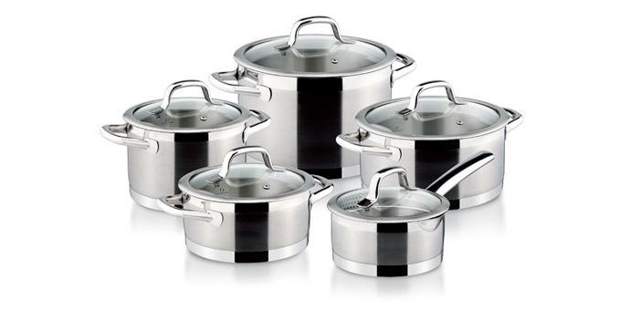 Vaření - Tescoma Sada nádobí PRESIDENT, 10 dílů (780210)