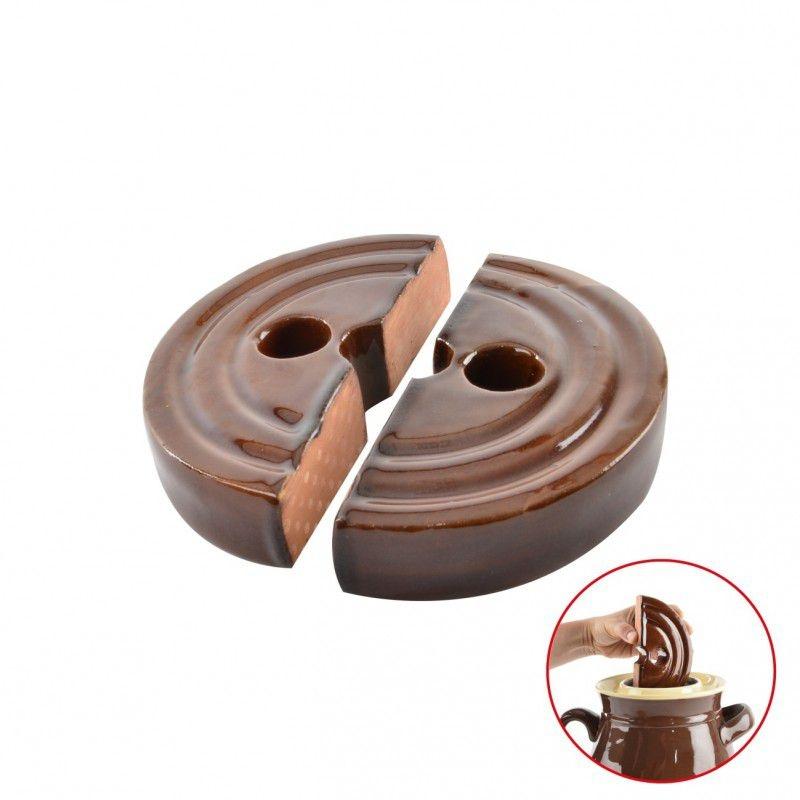 Skladování, přenášení - Těžítko keramické do sudu 23 cm