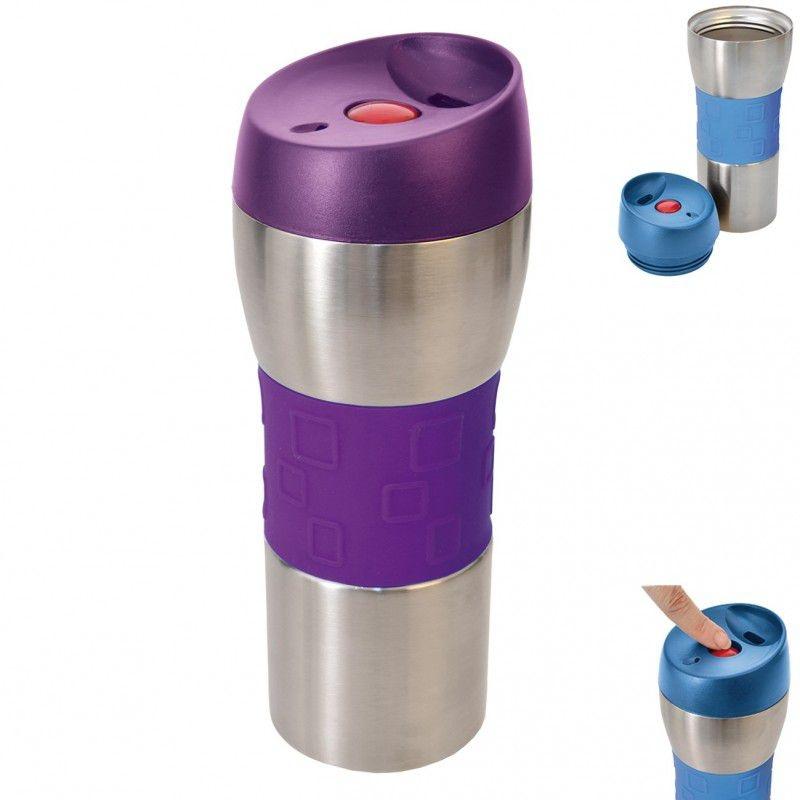 Nápoje - Orion Hrnek termo pohár nerez/guma 0,4 l (112252)
