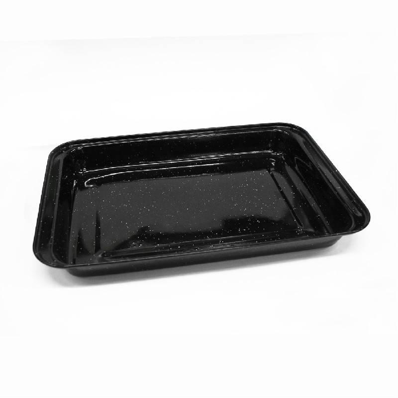 Pečení - Plech na pečení smaltovaný 41,7x29,5 cm