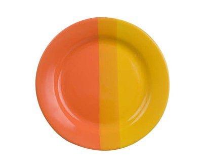 Stolování - Banquet A02154 Dezertní talíř oranžovo žlutý 19 cm