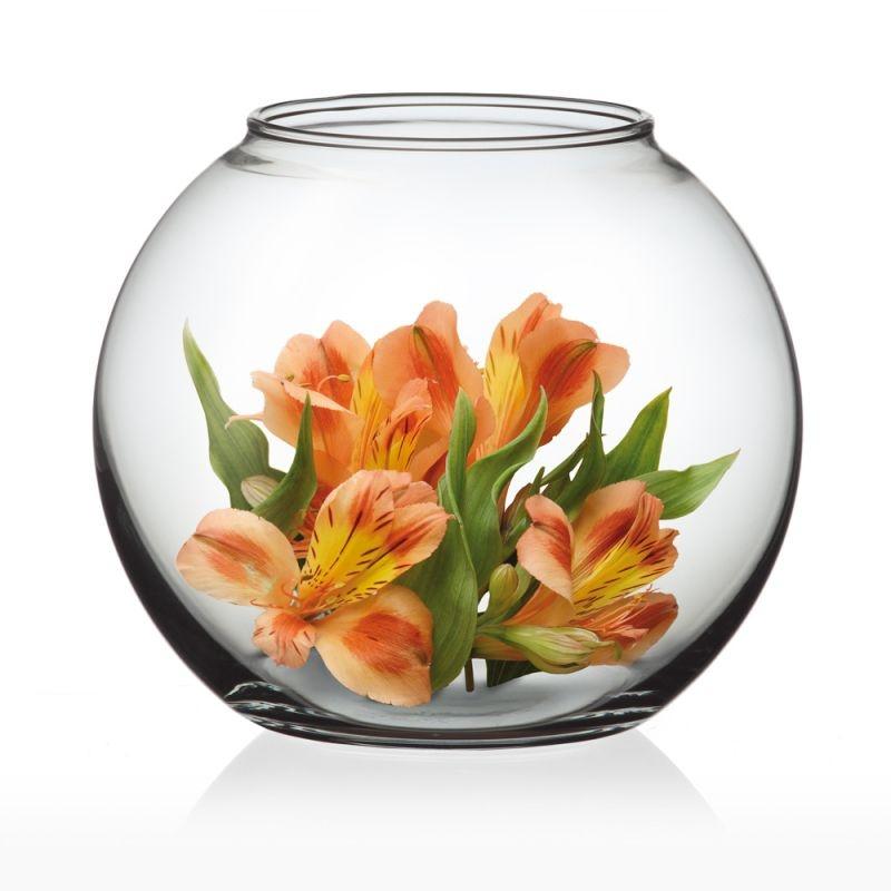 Domov a outdoor - Simax A12494 Skleněná váza Globe