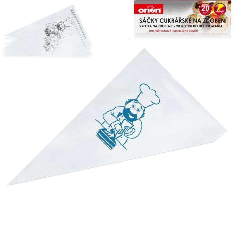 Pečení - Orion 142242 Sáček cukrářský 20 ks 39,5 cm