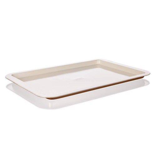 Pečení - Banquet Gourmet Ceramia A03323 Mělký plech s keramickým povrchem 43x29 cm