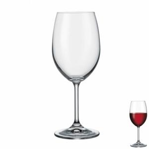 Crystalex Lara 125527 Sklenice na červené víno 350 ml 6 ks