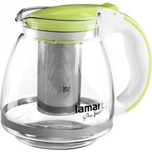 Lamart LT7028 Skleněná konvice s filtrem Verre zelená 1,5 l