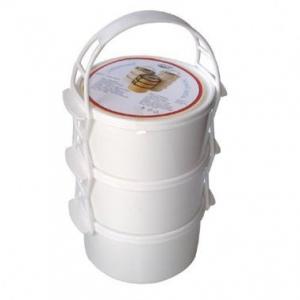 Petra plast 907400 Plastový jídlonosič 3x1 l