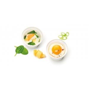 Tescoma Purity MicroWave 705034 Miska na vařená vejce 2 ks