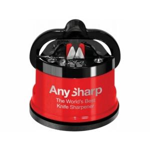 Brousek na nože AnySharp červený