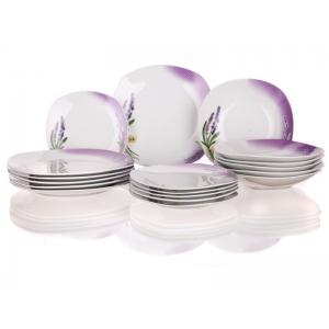 Banquet A02563 Jídelní souprava Lavender 18 ks