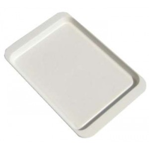 Plastový podnos bílý 21x14cm