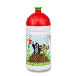 R&B Mědílek V050240 Zdravá lahev Krtek a jahody červená 0,5 l