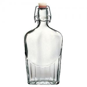 Láhev sklo placatka patentní uzávěr 0,25 l