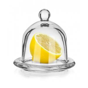 dóza na citron skleněná A13036 LIMON ¤12,5cm