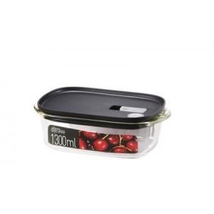 Dóza na potraviny, 1,3 l, borosilikátové sklo
