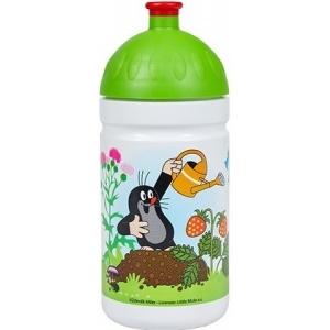 R&B Mědílek V050241 Zdravá lahev Krtek a jahody zelená 0,5 l