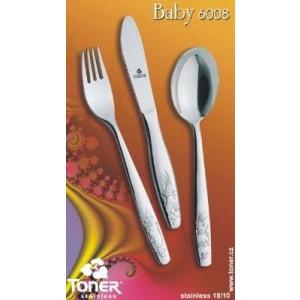 Toner Dětský příbor BABY Toner 6008 3 ks