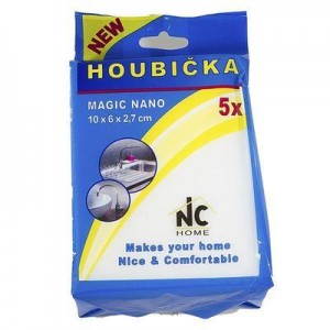 Houbička MAGIC NANO  5 ks