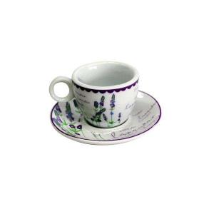 Levandule šapo káva 210 ml šálek na kávu