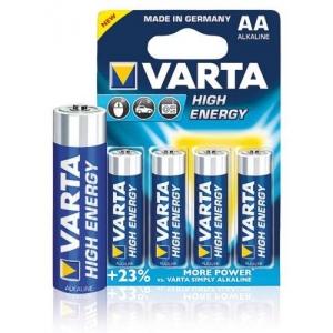 Baterie VARTA-ALKALINE tužková AA/R6 - 4 ks