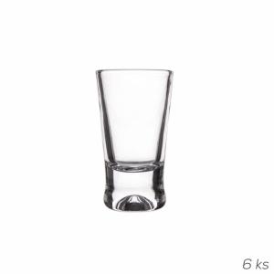 Odlivka sklo GLAS 0,025 l SH 6 ks