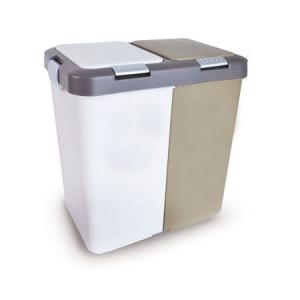 Odpadkový koš na tříděný odpad UH DUO DUST 20l