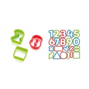 Tescoma Vykrajovátka číslice DELÍCIA KIDS 21ks 630926