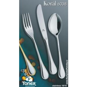 Příbory Korál 24 dílů Toner 6037