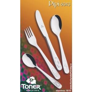 Příbory dětské PIPI Toner 6043 4 ks
