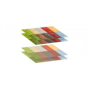 Samolepicí štítky 4FOOD, 4 archy - CS Tescoma (897010)