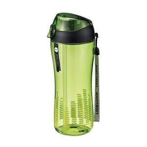 Lock&Lock Sportovní láhev 550 ml se silikonovým brčkem- zelená