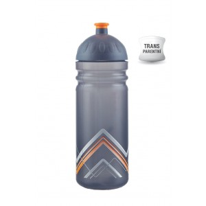 Zdravá lahev BIKE Hory oranžová 0,7 l V070290