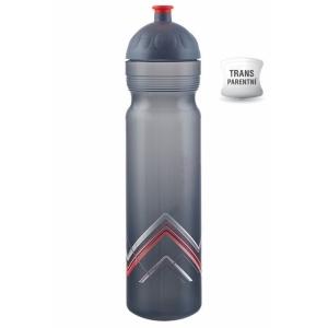 Zdravá lahev BIKE Hory červená 1 l V100261